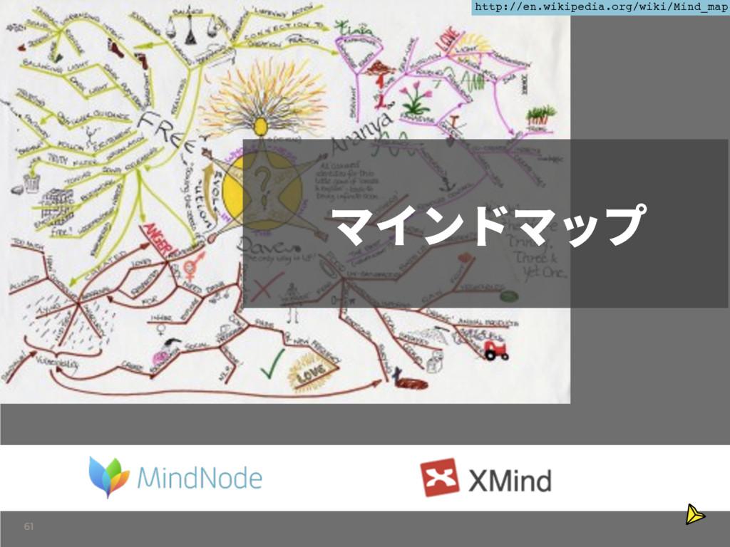 61 و؎ٝسوحف http://en.wikipedia.org/wiki/Mind_map