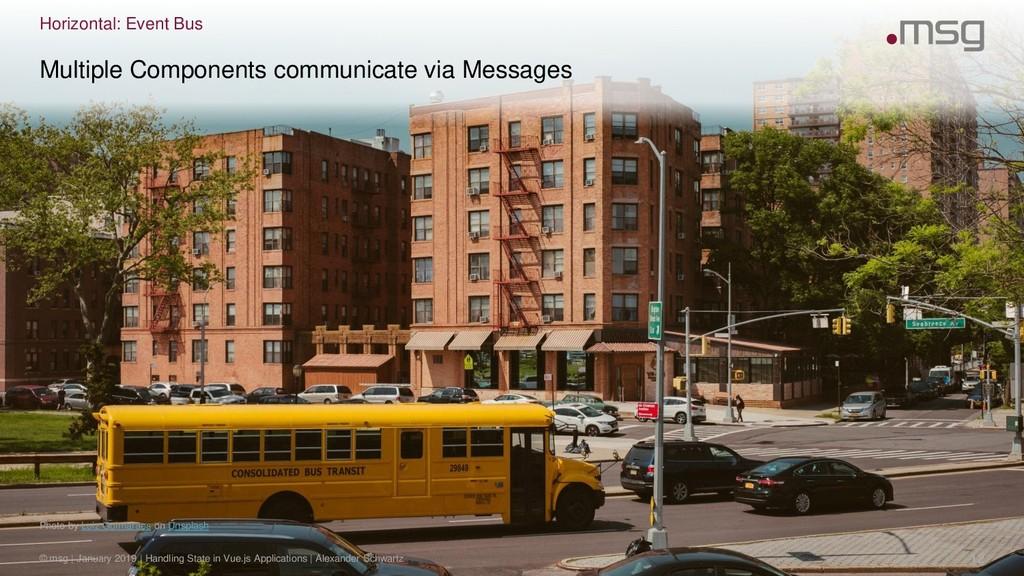 Horizontal: Event Bus Photo by Luiz Guimaraes o...