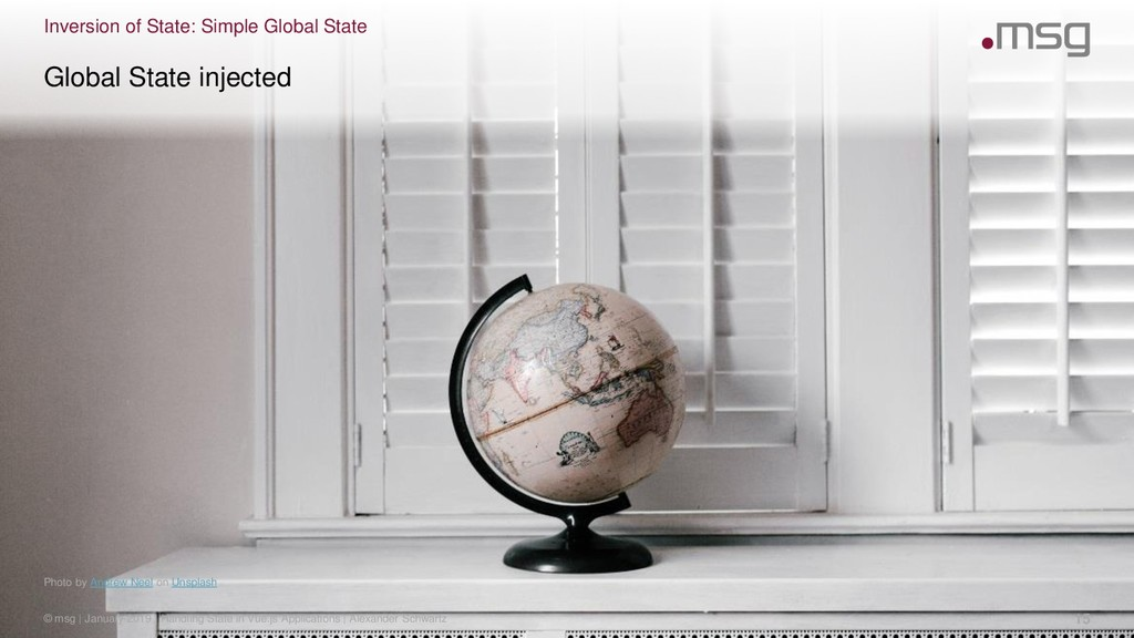 Inversion of State: Simple Global State Photo b...