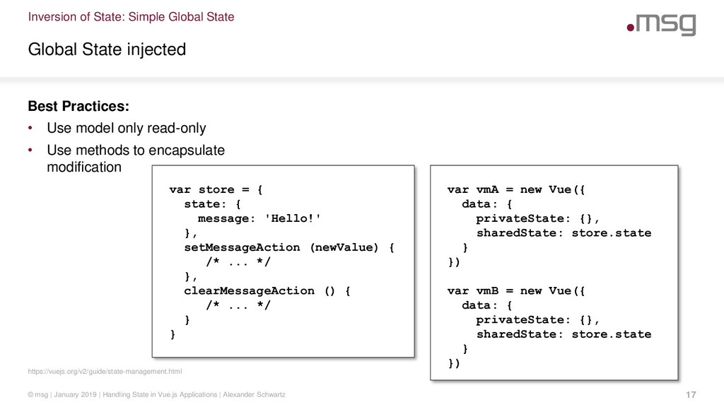 Inversion of State: Simple Global State https:/...