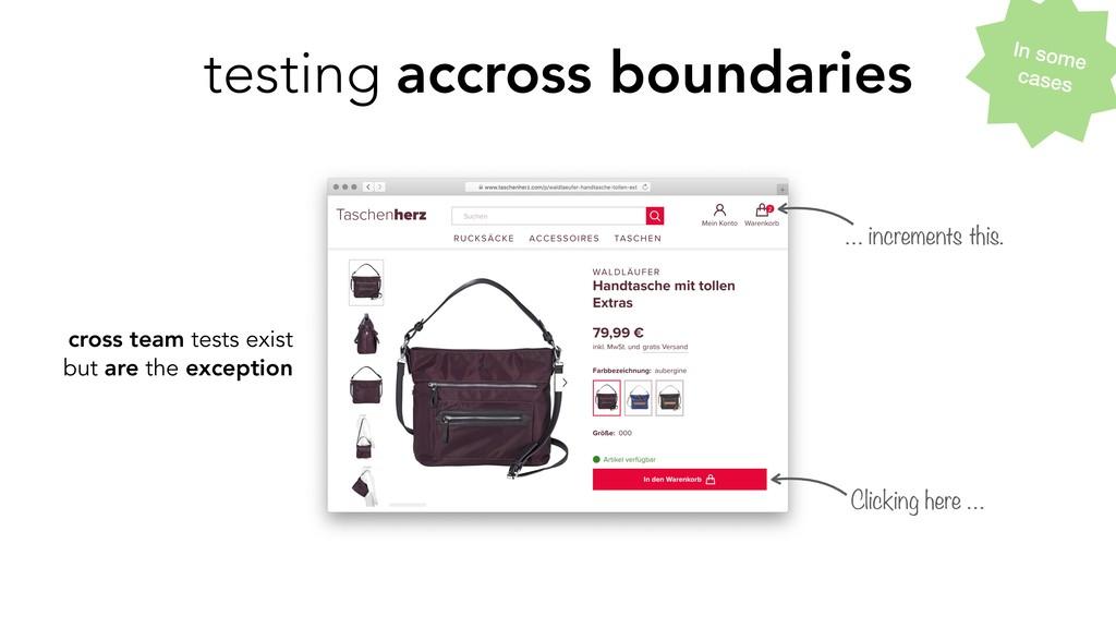 testing accross boundaries cross team tests exi...