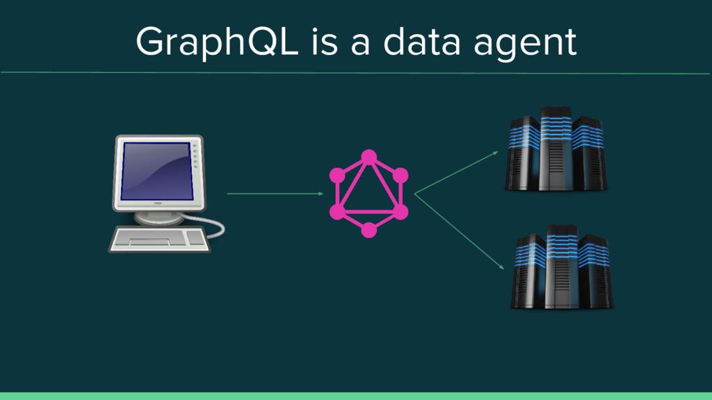 GraphQL is a data agent