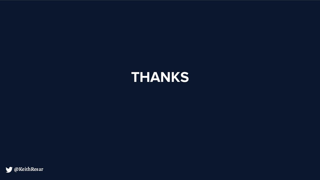 @KeithResar THANKS