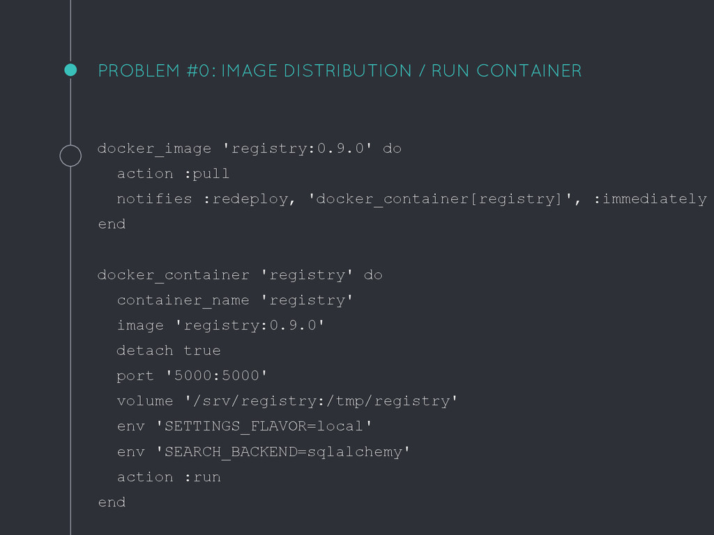 PROBLEM #0: IMAGE DISTRIBUTION / RUN CONTAINER ...