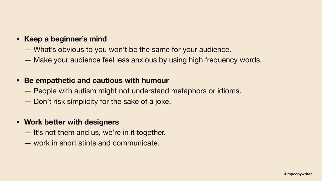@lmpcopywriter • Keep a beginner's mind — What...