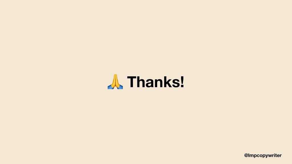 @lmpcopywriter  Thanks!