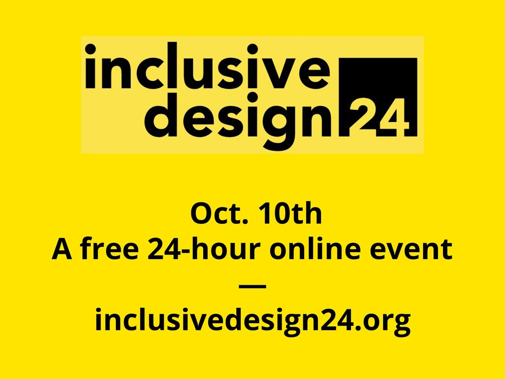 Oct. 10th A free 24-hour online event — inclusi...