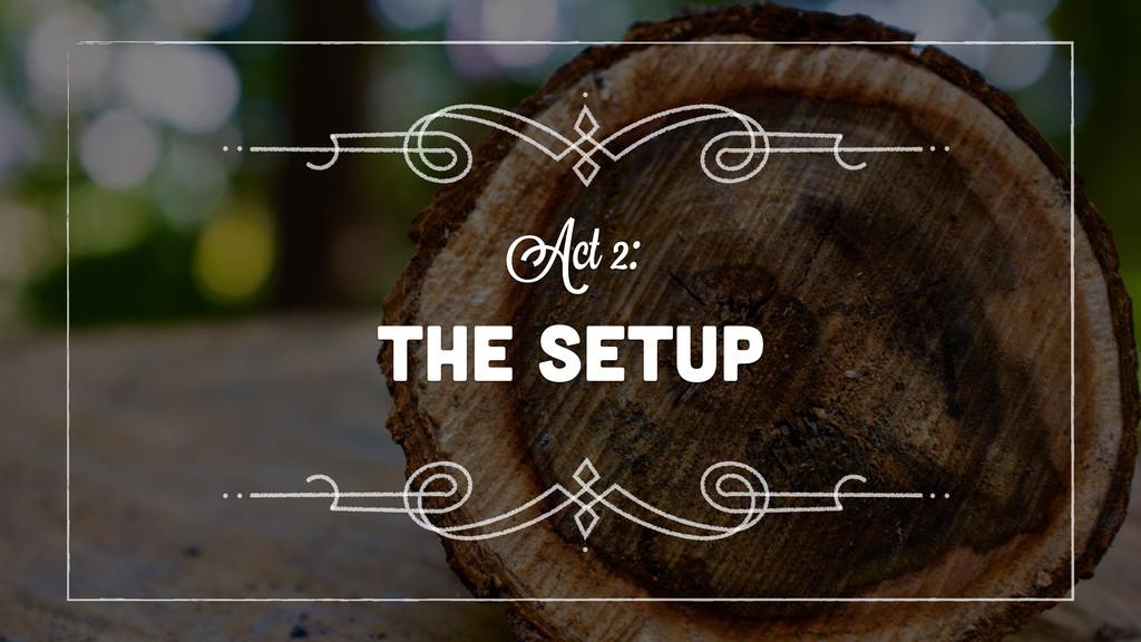 the SETUP Act 2: