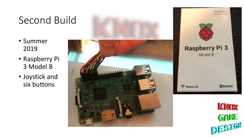 Second Build • Summer 2019 • Raspberry Pi 3 Mod...