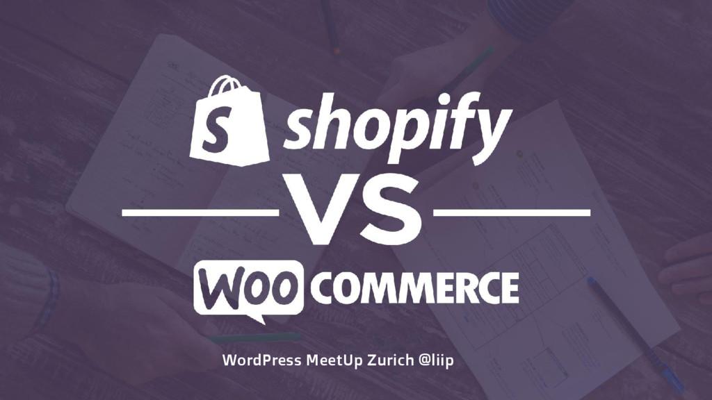 WordPress MeetUp Zurich @liip