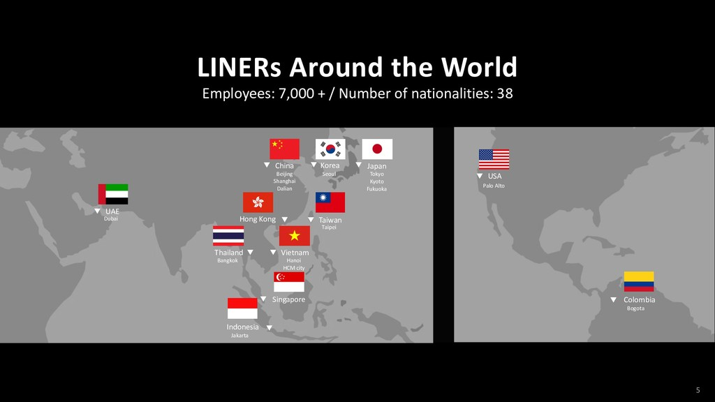 5 Employees: 7,000 + / Number of nationalities:...