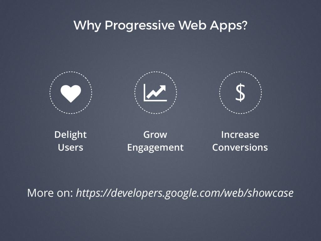 Why Progressive Web Apps? Delight Users Grow En...