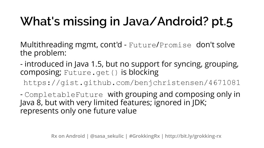 What's missing in Java/Android? pt.5 Multithrea...