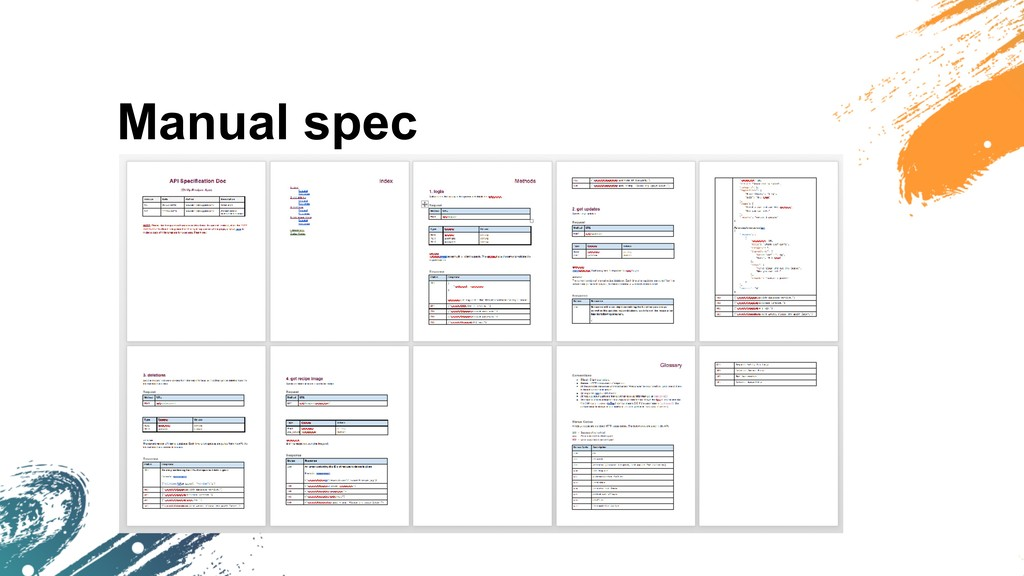 Manual spec