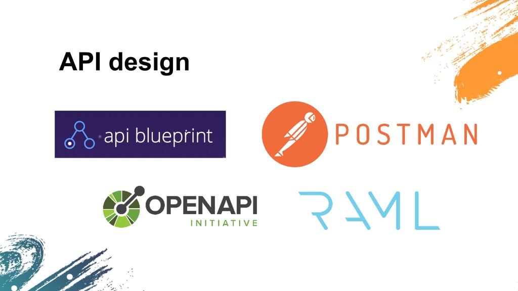API design