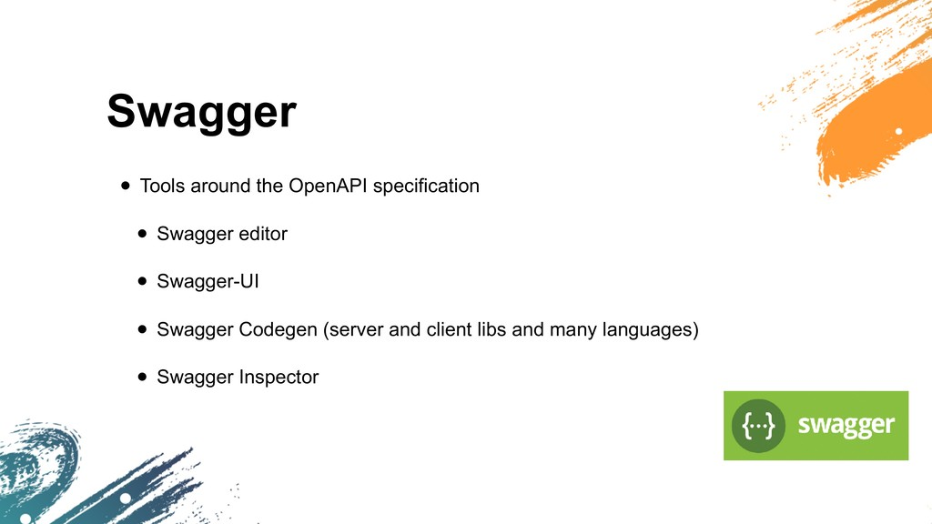 Swagger • Tools around the OpenAPI specificatio...