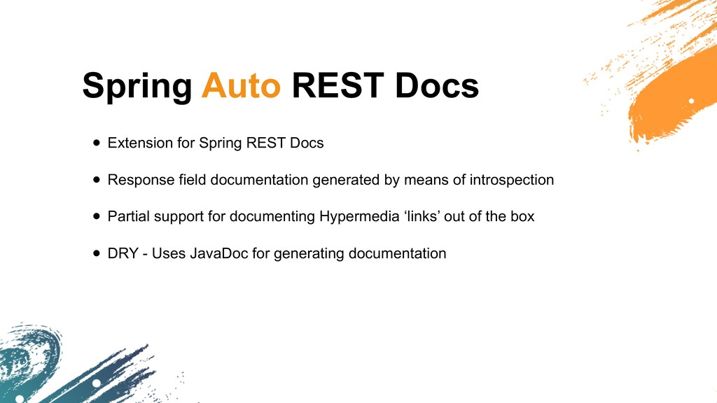 Spring Auto REST Docs • Extension for Spring RE...
