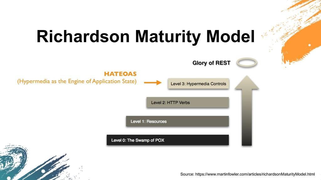Richardson Maturity Model Source: https://www.m...