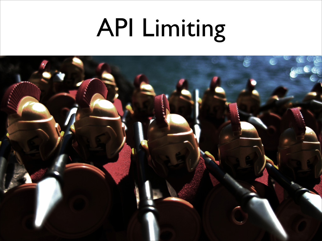 API Limiting