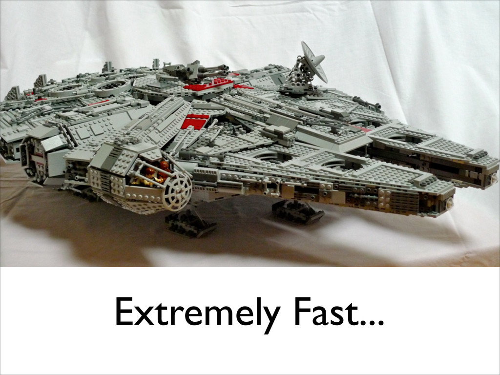 Extremely Fast...