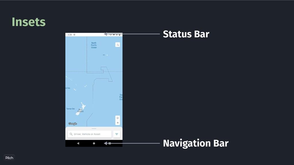 Insets Status Bar Navigation Bar