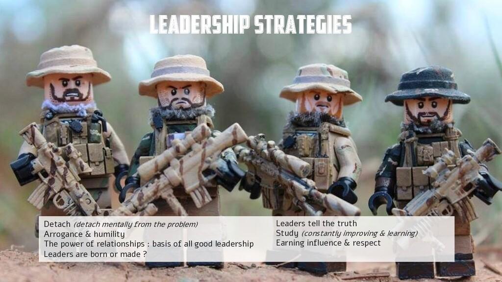@yot88 Leadership strategies Detach (detach men...