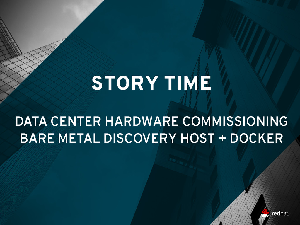 STORY TIME DATA CENTER HARDWARE COMMISSIONING B...