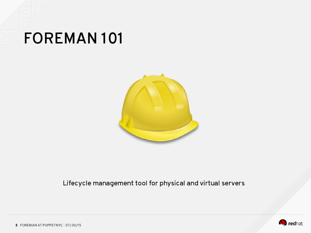 FOREMAN AT PUPPETNYC - 07/30/15 3 Lifecycle man...