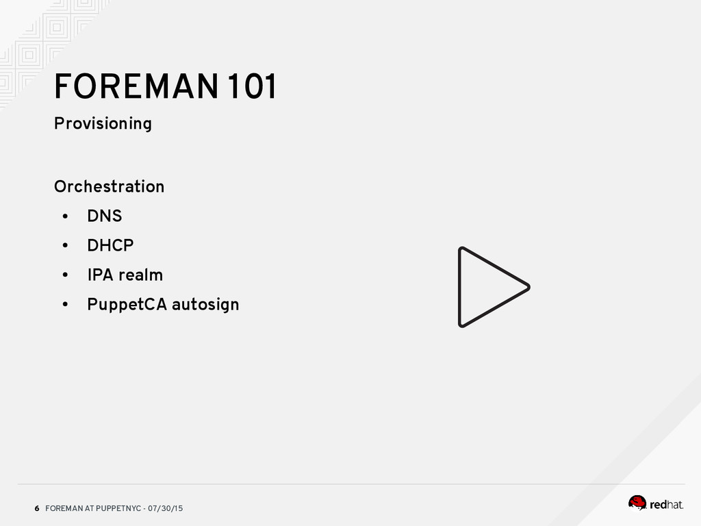 FOREMAN AT PUPPETNYC - 07/30/15 6 FOREMAN 101 P...