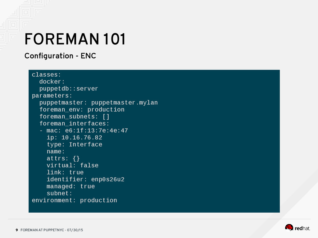 FOREMAN AT PUPPETNYC - 07/30/15 9 FOREMAN 101 C...