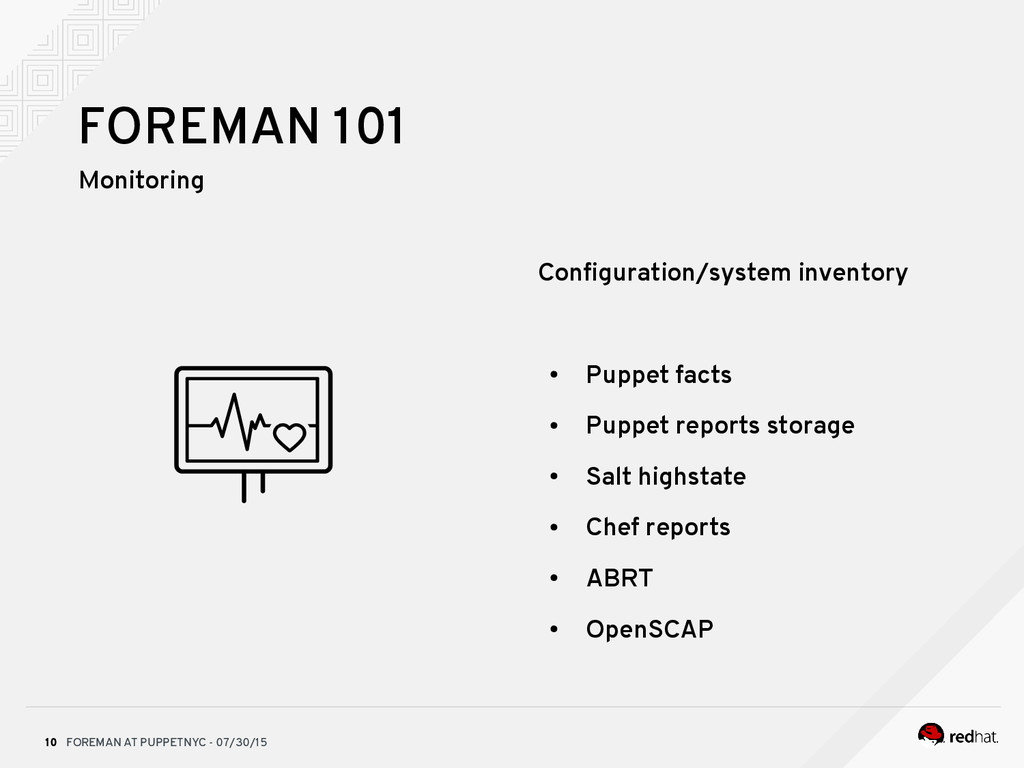 FOREMAN AT PUPPETNYC - 07/30/15 10 FOREMAN 101 ...