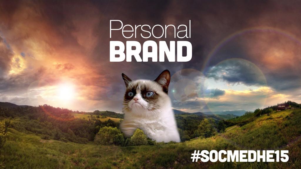 Personal brand #socmedhe15