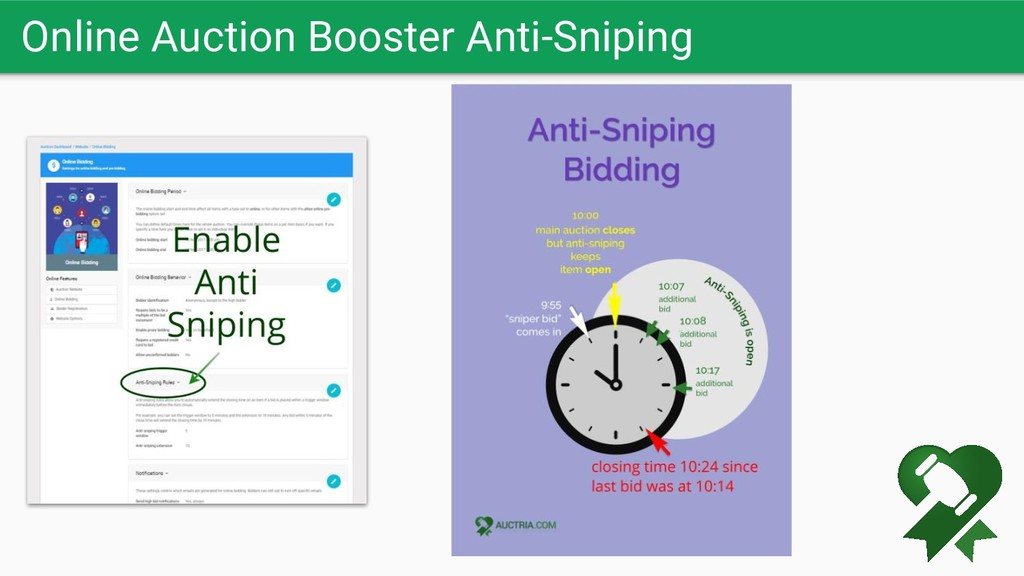 Online Auction Booster Anti-Sniping