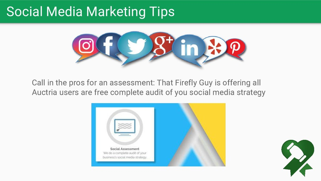 Social Media Marketing Tips Call in the pros fo...