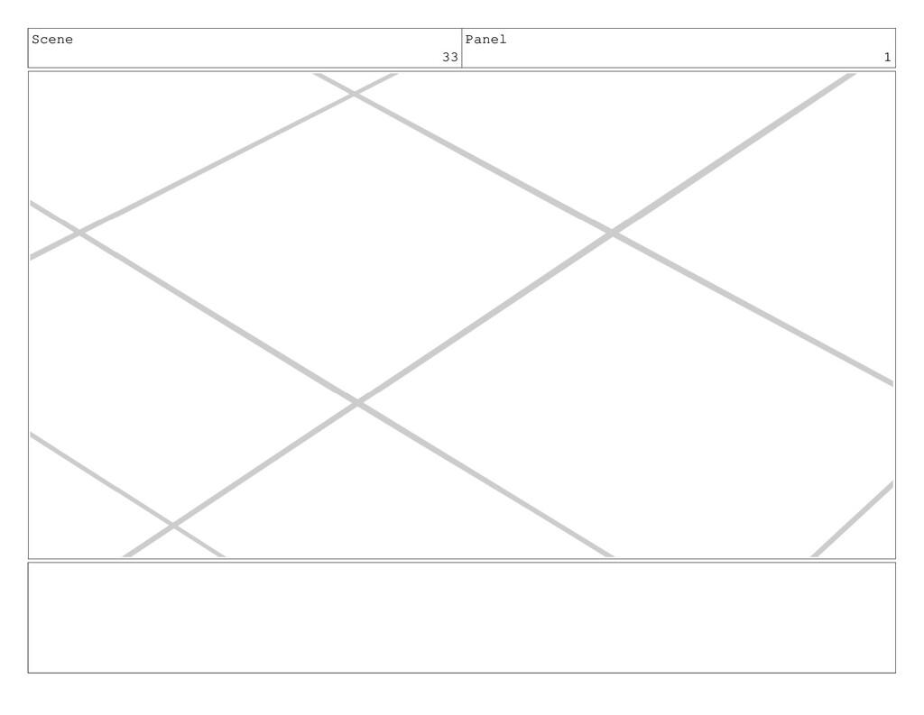 Scene 33 Panel 1