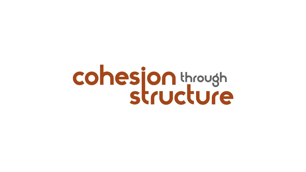 cohesion structure through