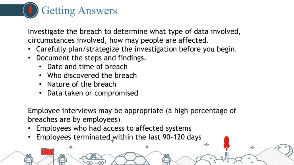 #pubcon Getting Answers Investigate the breach ...