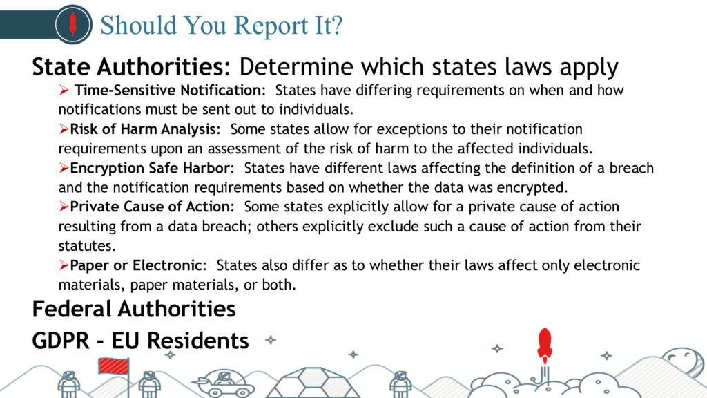 #pubcon Should You Report It? State Authorities...