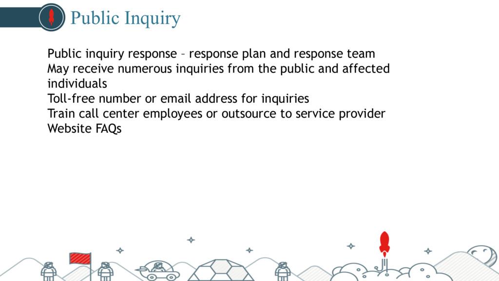 #pubcon Public Inquiry Public inquiry response ...
