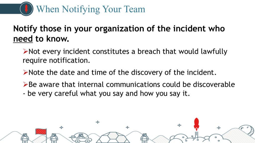 #pubcon When Notifying Your Team Notify those i...
