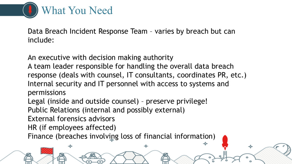 #pubcon What You Need Data Breach Incident Resp...