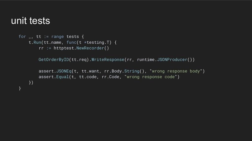 unit tests for _, tt := range tests { t.Run(tt....