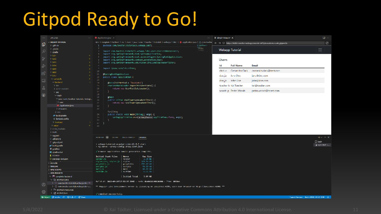 Lab 0: Build all tutorial labs in the VM  When...