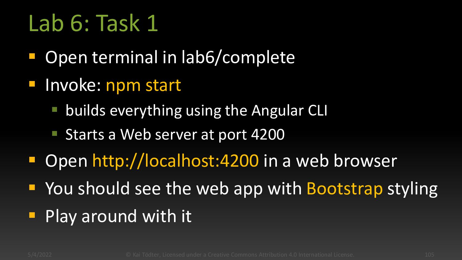 Bootstrapped Tutorial Web App 11/4/2020 © Kai T...