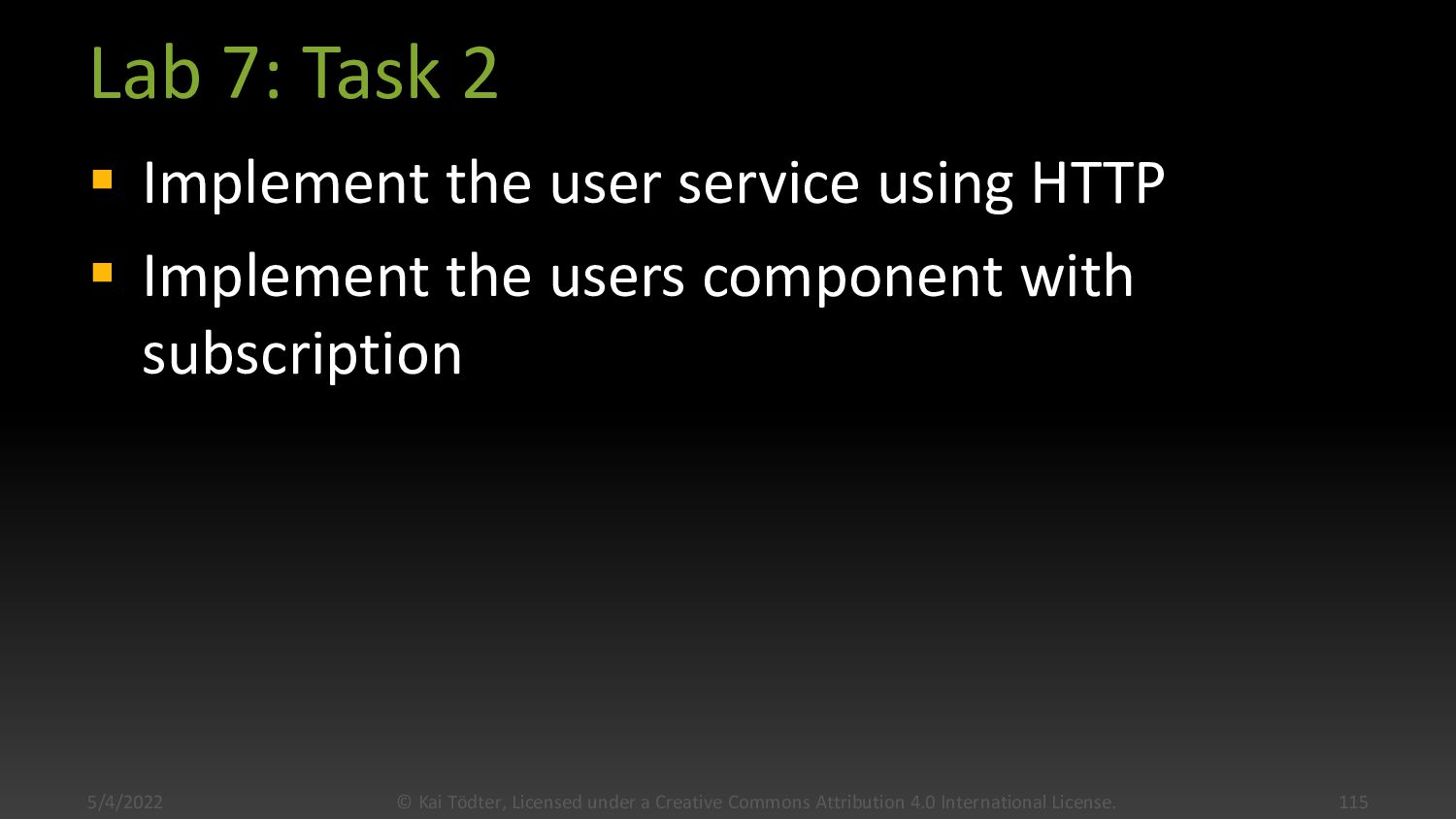 Lab 7: Task 1  Start the Spring Boot app from ...