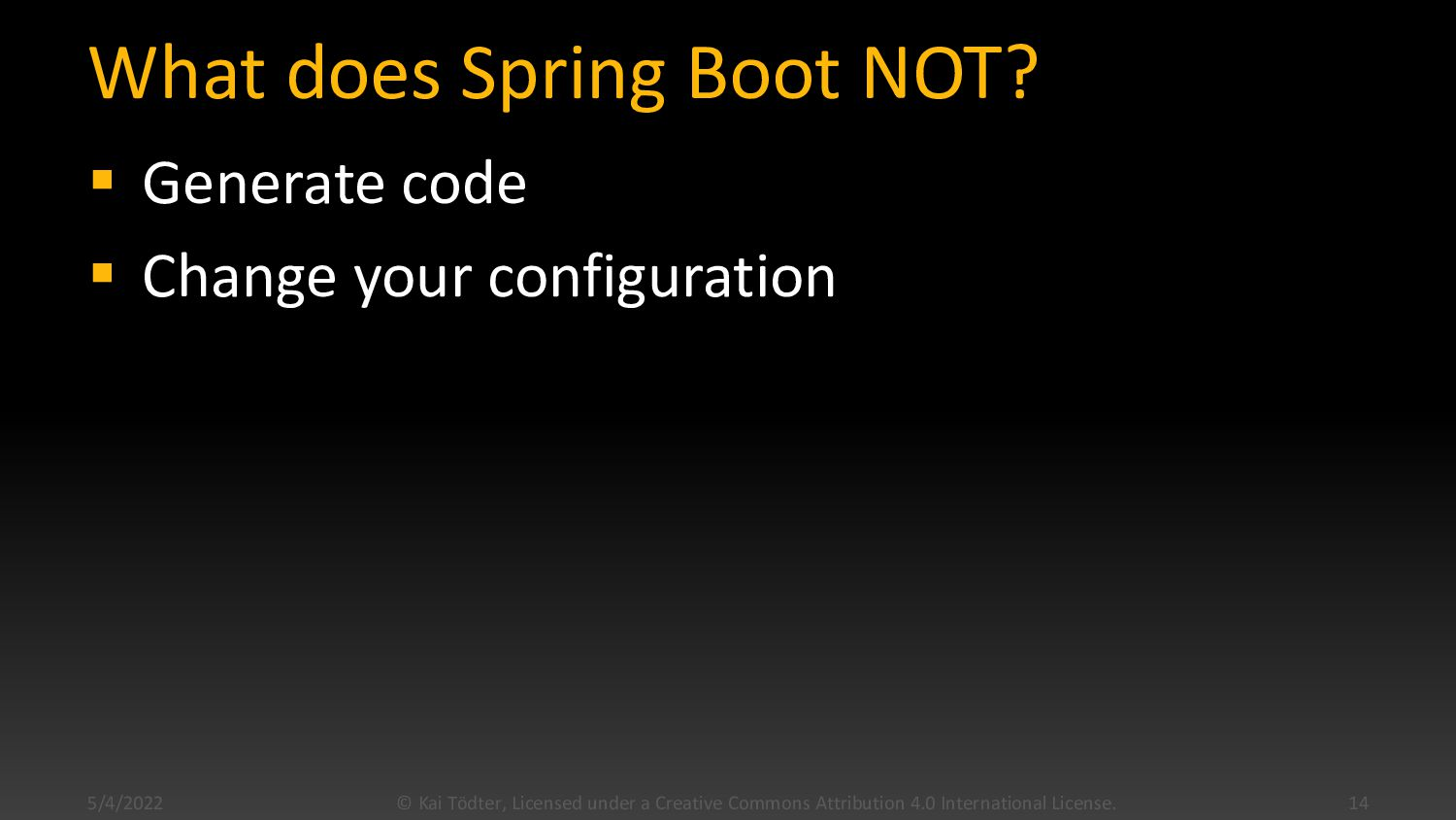 Why Spring Boot?  Fast way to build web applic...