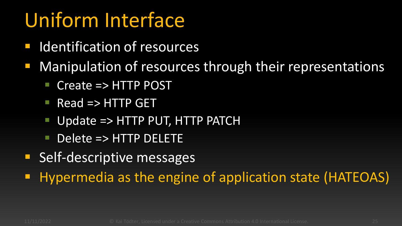 REST Architectural Constraints  Client-Server ...