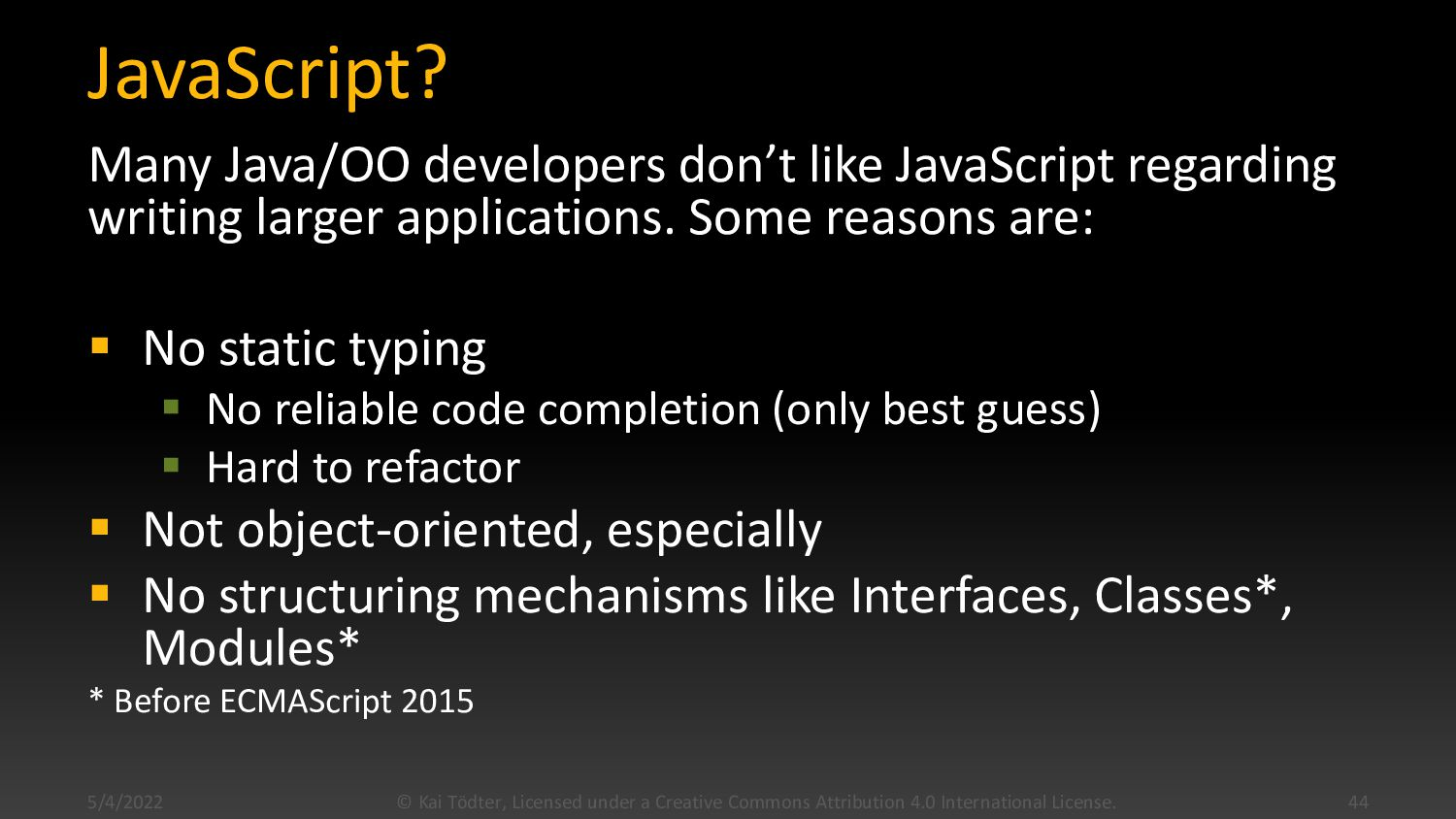 Outline  TypeScript Introduction  Angular Int...