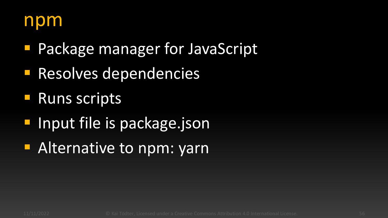 JavaScript Dev Tools  In JavaScript land, most...