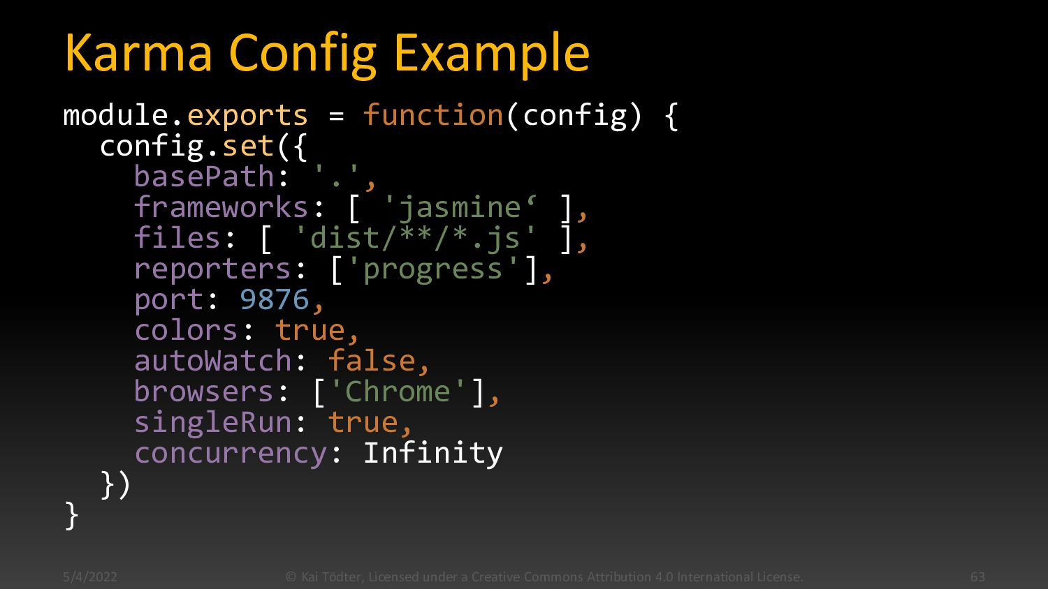 Karma  Test runner for JavaScript  Created by...